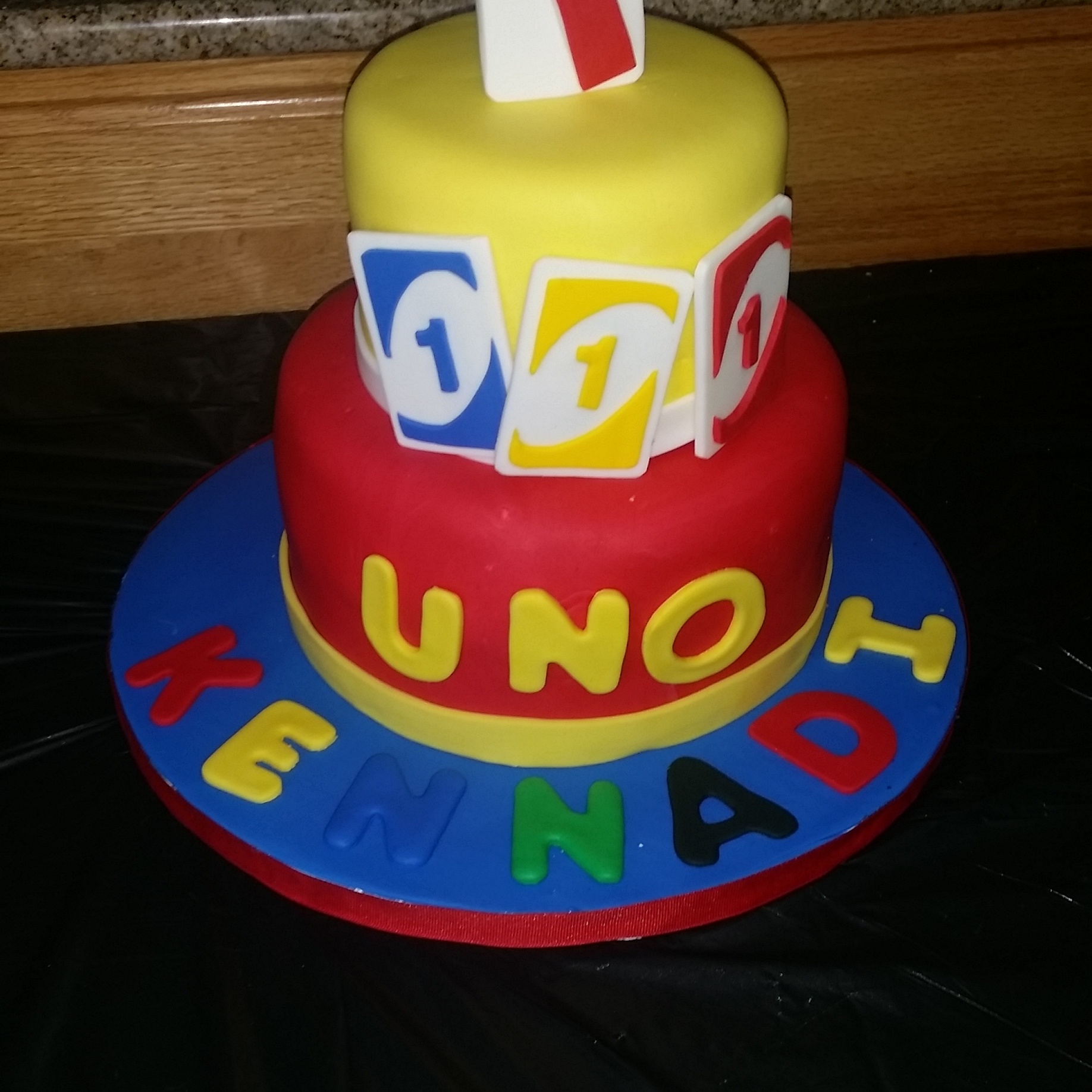 Uno First Birthday